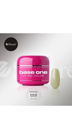 Gel UV Color Base One 5g Pastel - Olive
