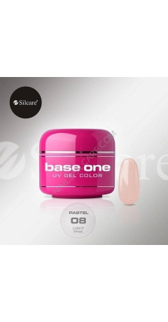 Gel UV Color Base One 5g Pastel - Light Pink