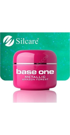 Gel UV Color Base One Metalic - Amazon Forest