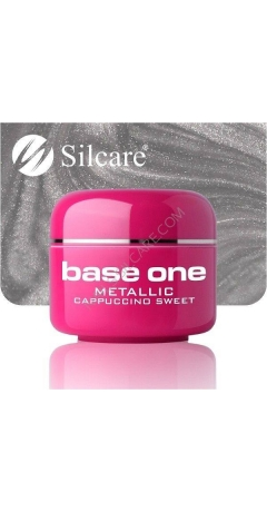 Gel UV Color Base One Silcare Metalic - Cappuccino Sweet
