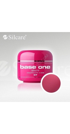 Gel UV Color Base One Matt 5ml - Amaranth Kiss